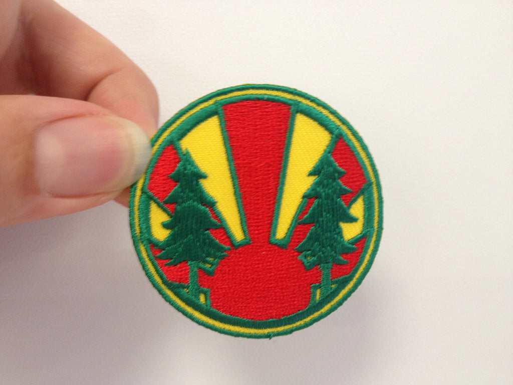 Folk Symbol embroidered badge