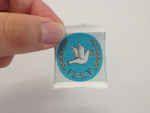 Pioneer Cloth Badge-Peace