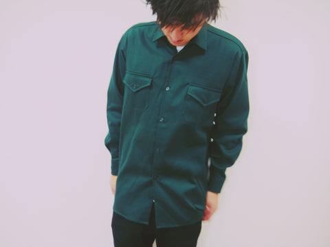 Folk Shirt - Drill Cotton