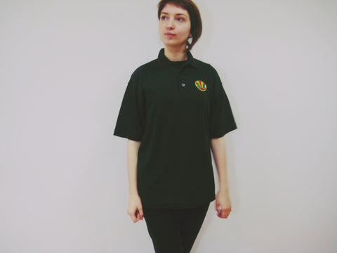 Folk T-Shirt- Polo neck