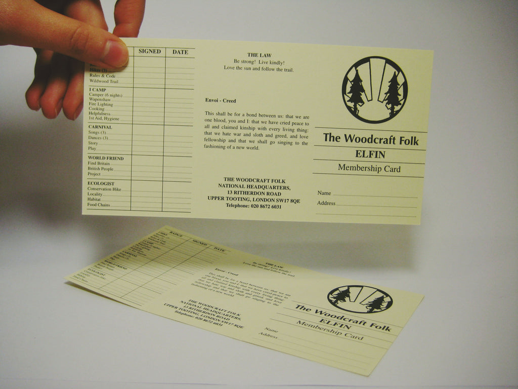 Elfin Membership Card