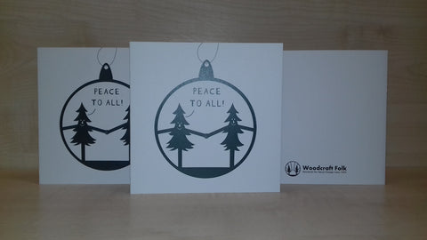Greetings Card-#PeacetoAll
