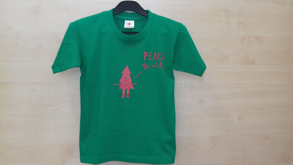 T-Shirt-Peace to All