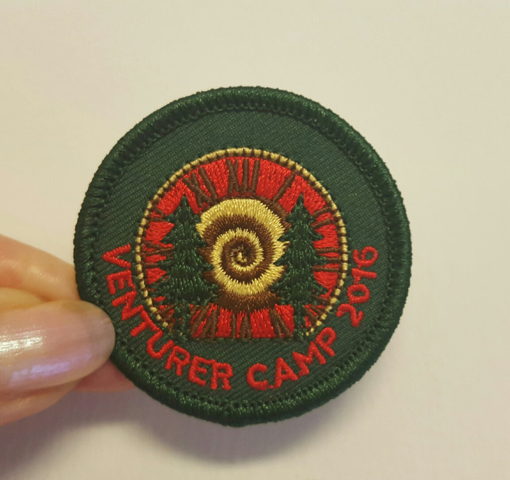 Venturer Camp 2016-Embroidered Badge