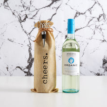 Load image into Gallery viewer, Congratulate an organic wine lover today with our easy to order angove organic wine gift bag