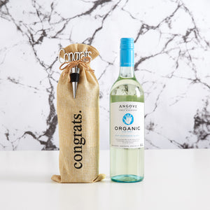 The perfect gift hamper for organic white wine drinkers.