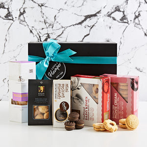 Australian cookie gift box is filled with a wonderful selection of cookies around Australia.