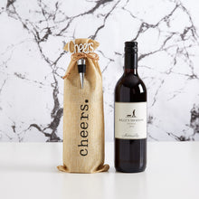 Load image into Gallery viewer, Say congratulations the modern way with our Billy's Shadow Red Wine Gift. This inexpensive gift makes a great corporate gift.