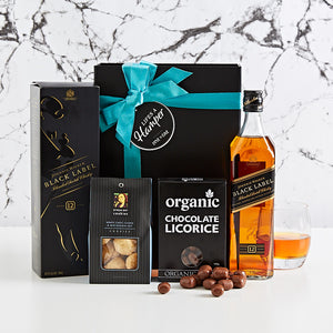 Black Label Whisky Hamper