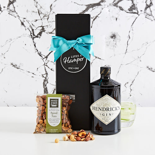 Hendricks and Nuts Gift Box