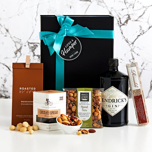 Hendricks and Snacks Gift Hamper