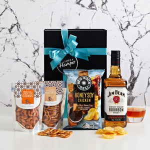Jim Beam Bourbon and Chips Hamper