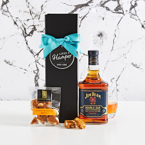 Jim Beam Double Oak Hamper