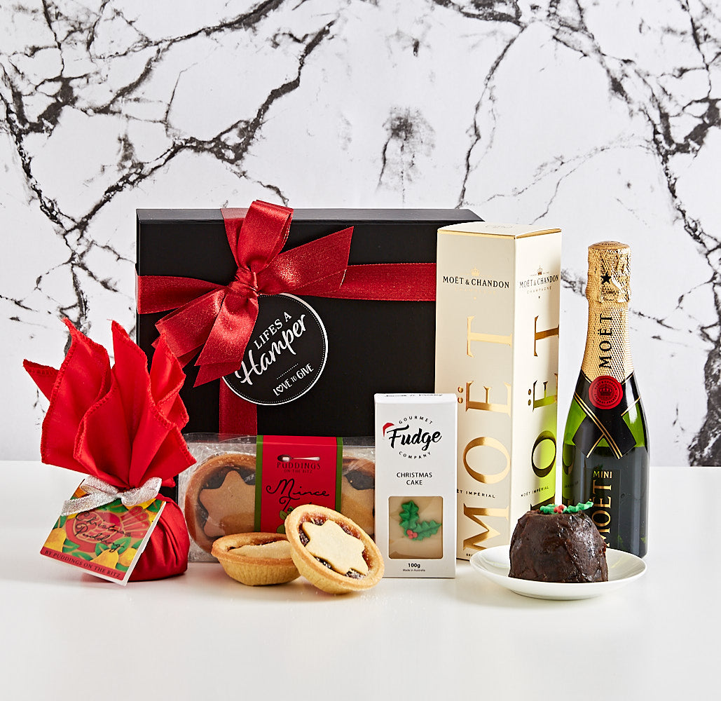 Mini Moet and Chandon Christmas Celebration Hamper