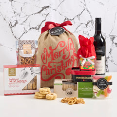 Red Wine Christmas Hamper