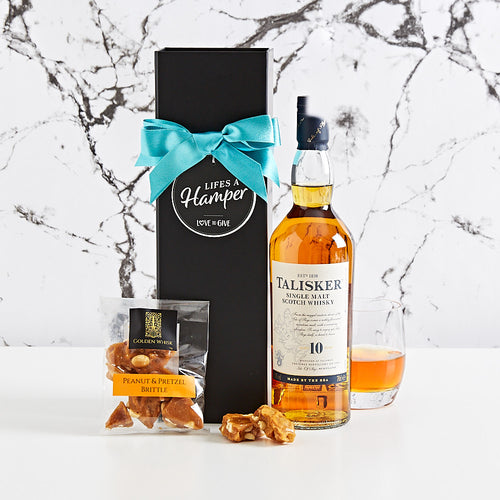 Talisker Single Malt Scotch Whisky Gift Hamper