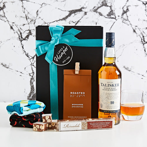Talisker and Socks Gift Hamper