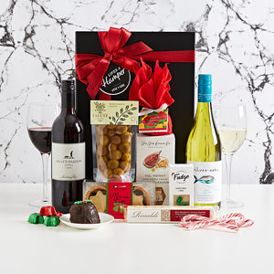 Wine Duo Christmas hamper makes a great corporate christmas hamper