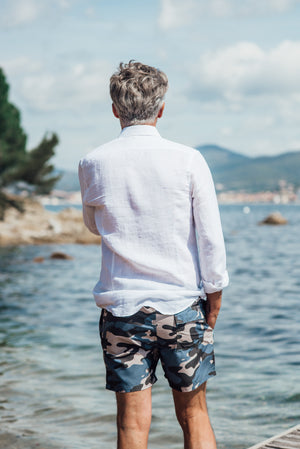 Pampelonne Camo - Navy/Grey