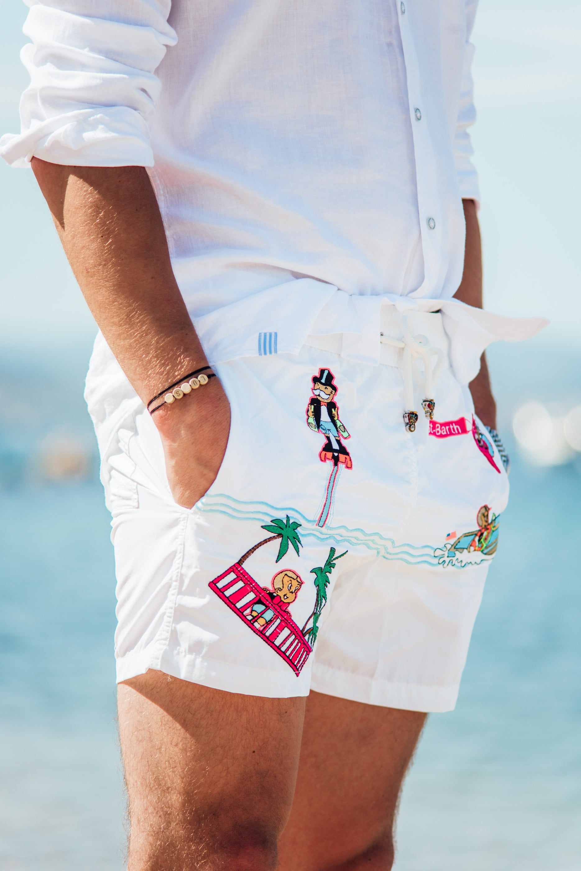 All Over Saint-Barth - White