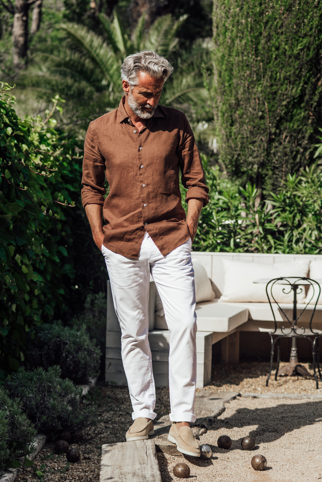 Divin shirt - Brown