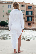 Parcs dress - White