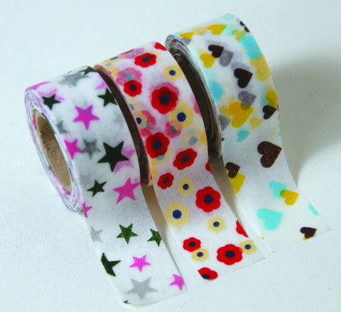 "Masking Tape 3er Set ""Kids Motif"""