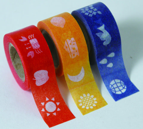 "Masking Tape 3er Set ""Kids Color"""