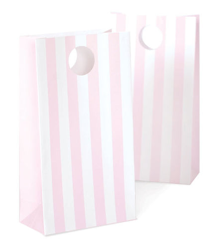 Party Bag rosa Streifen (12)