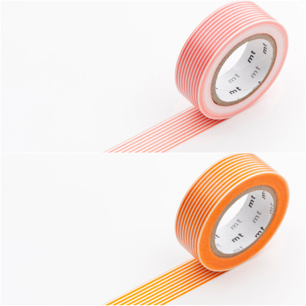 Masking Tape Streifen rosa/orange