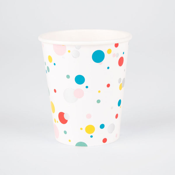 Becher bunte Bubbles (8)