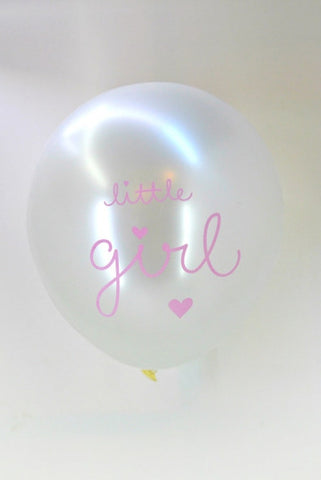 Ballon LITTLE GIRL (6)