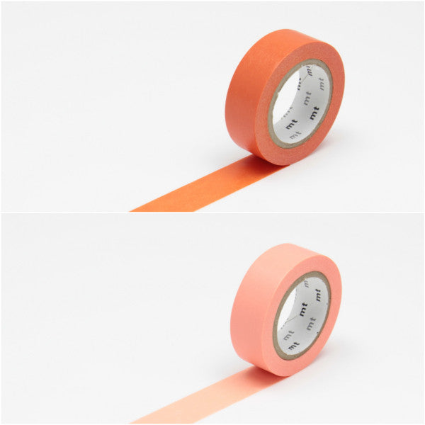 Masking Tape orange/rosa