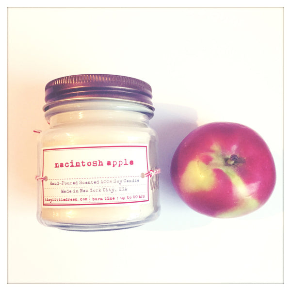 8 oz. Macintosh Apple Soy Candle