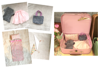Travel Girl Set - Vintage Inspired