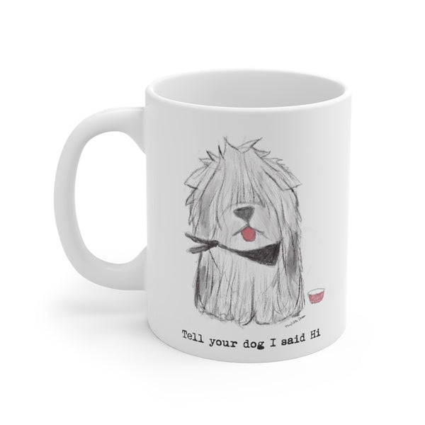 MUG FOR SHEEP DOG PARENTS