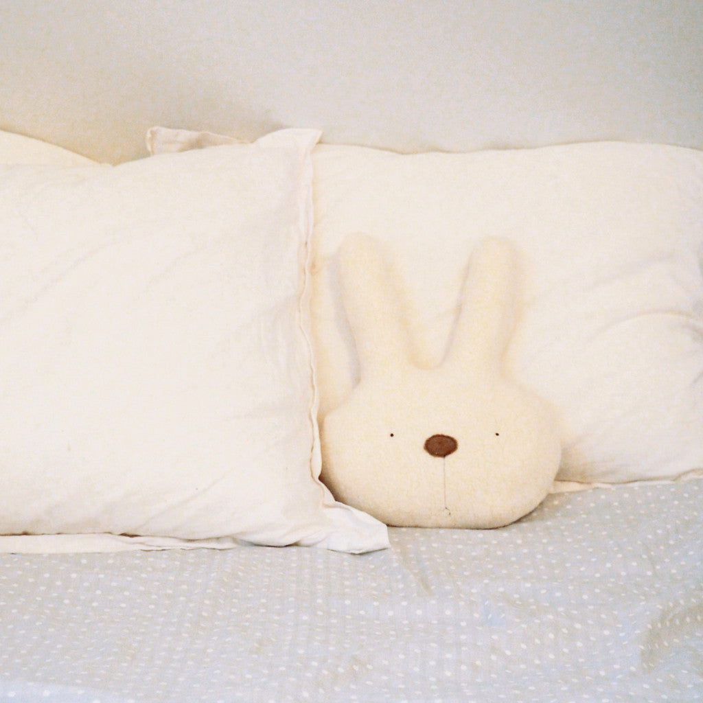 Bunny Plush Pillow   -NEW ITEM-