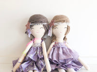 Spring Lilac Doll