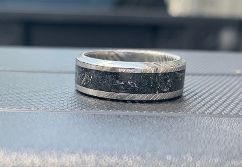 Customizable Women's Damascus Ring