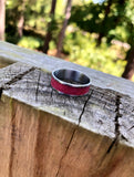 Customizable Women's Stainless Steel Ring