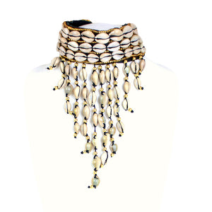 Cowrie Shell Chocker