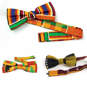 African Bowties (Set of 3)