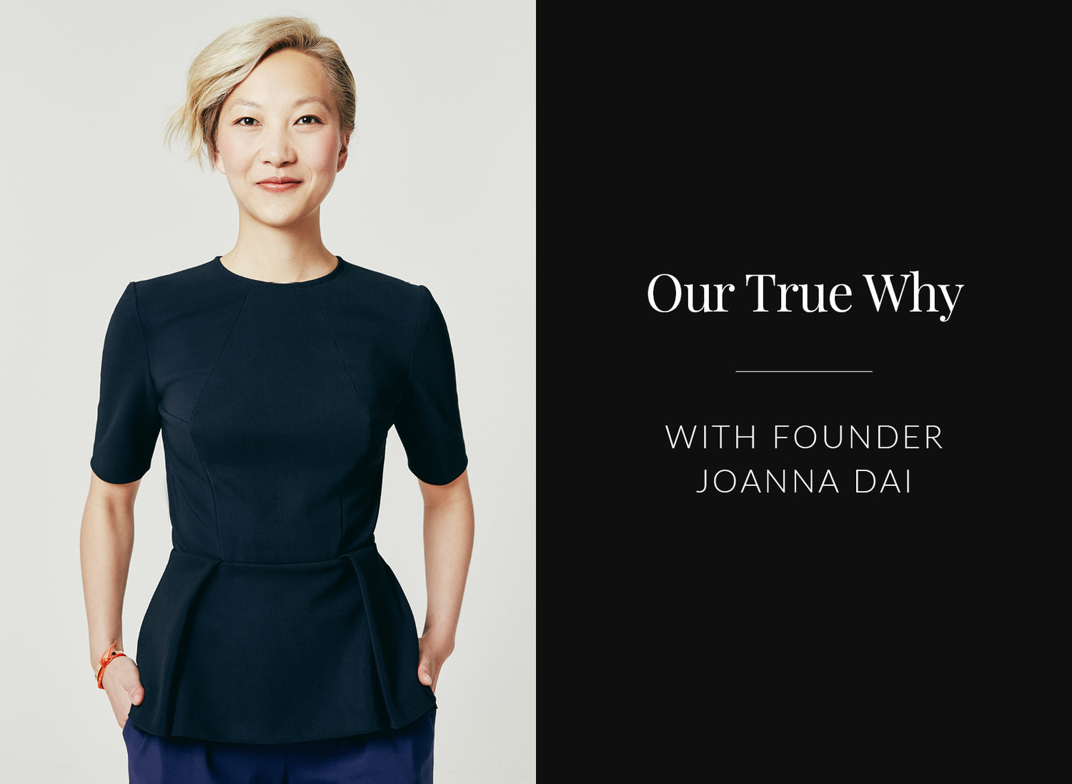 IWD 2020: Our True Why with Joanna Dai
