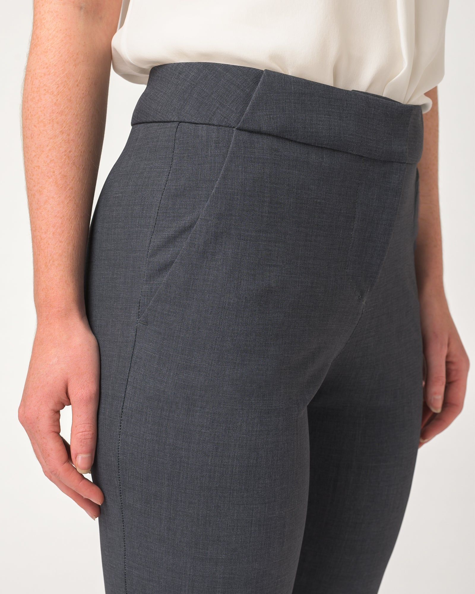 Power Move Trousers Charcoal Lightweight