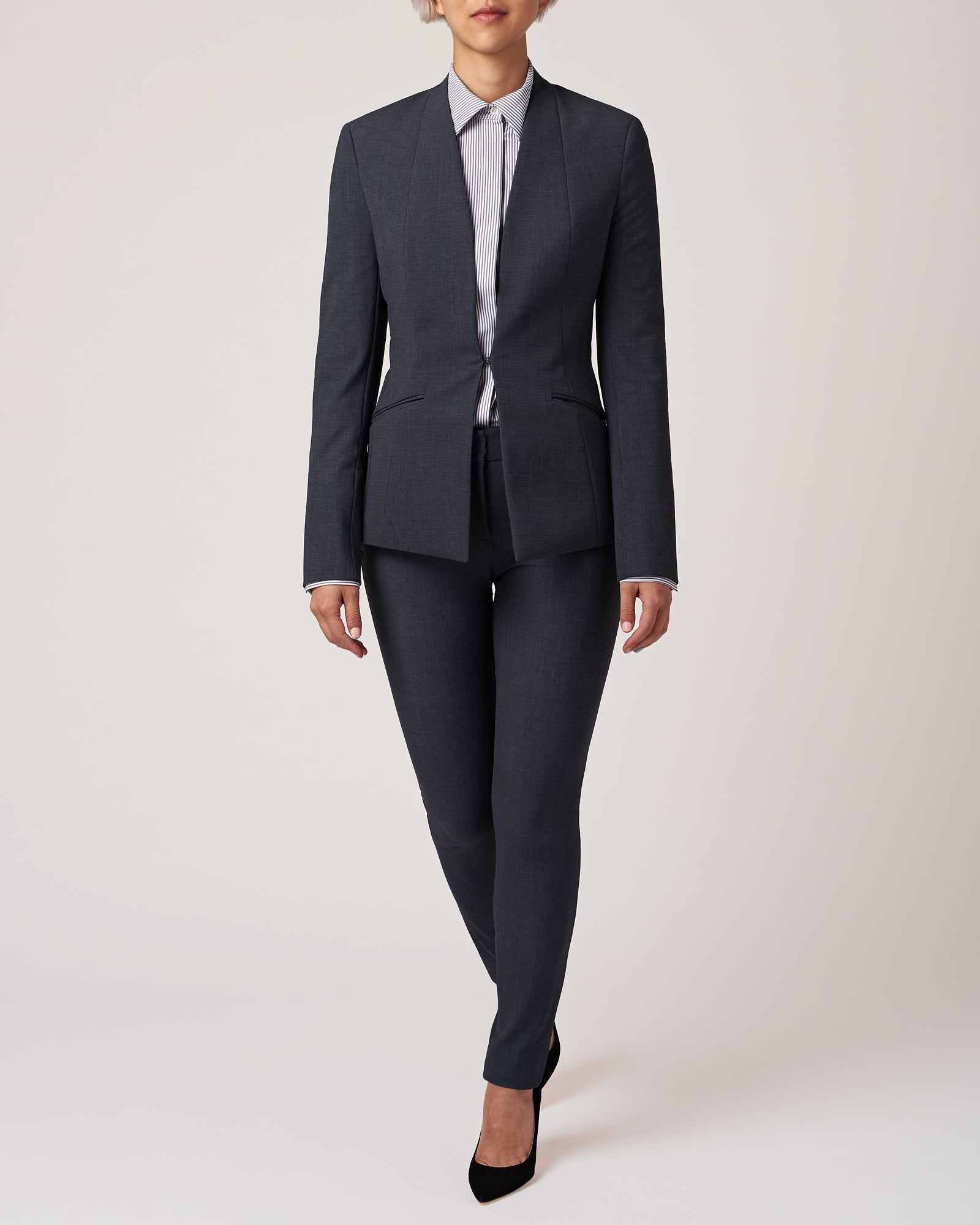 Cutting Edge Blazer Charcoal