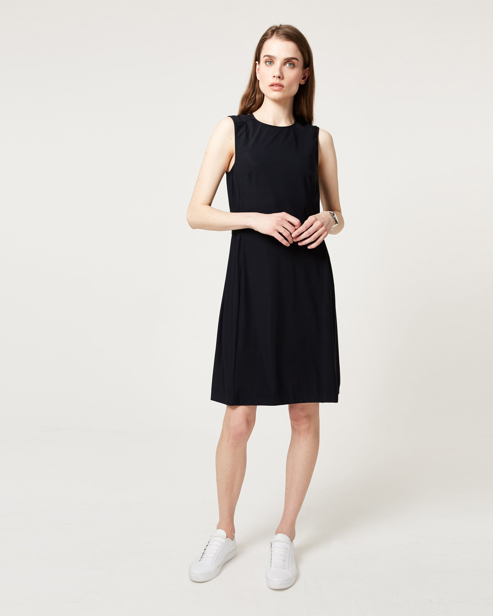 Sidebar Dress Black