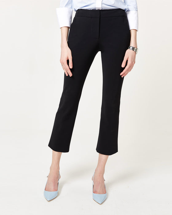 Flare Game Trousers Black