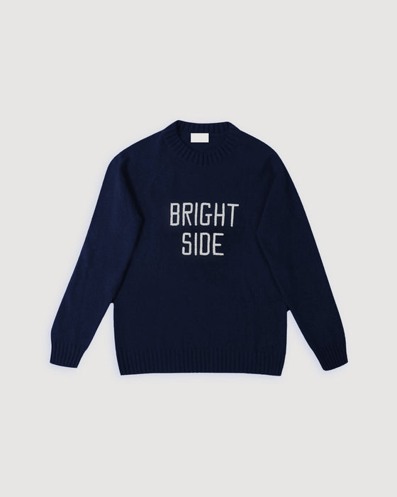 DAI x FUND Brightside Wool Jumper Midnight