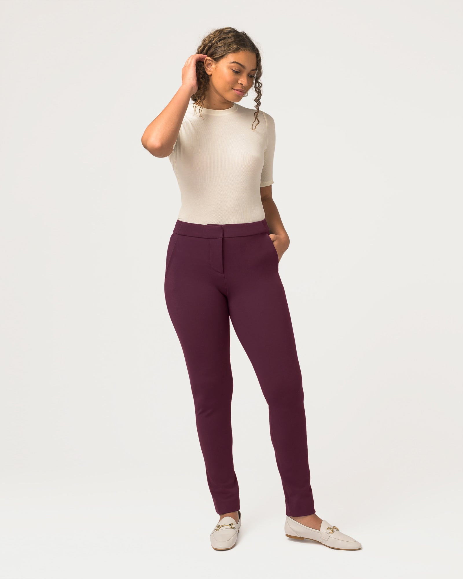 Power Move™ Trousers Plum 2.0