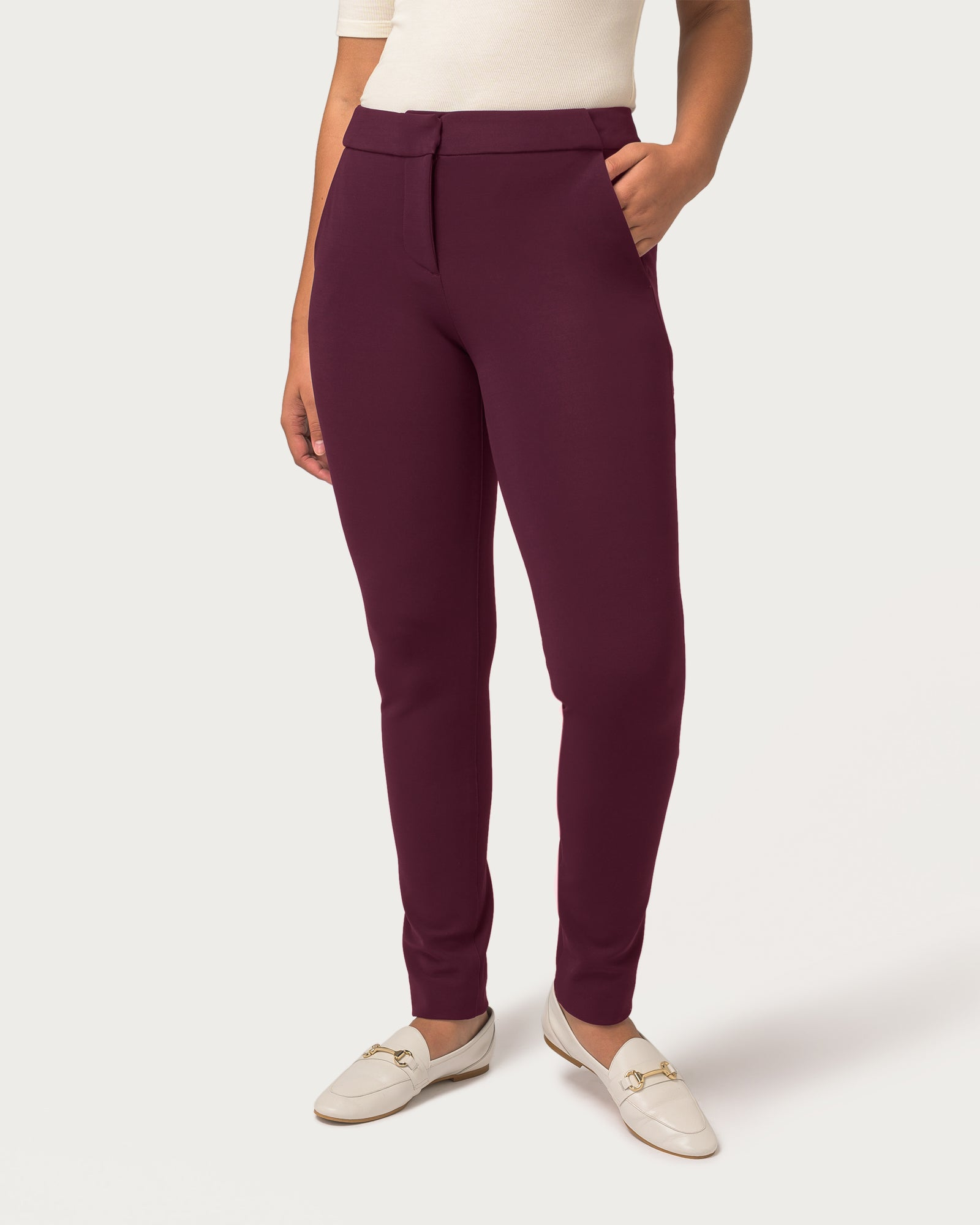 Power Move Trousers Plum 2.0